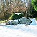 Rocks outside Kimbell Art Gallery
