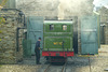 Isle of Man 2013 – № 10 G.H. Wood locomotive getting ready to depart to Douglas