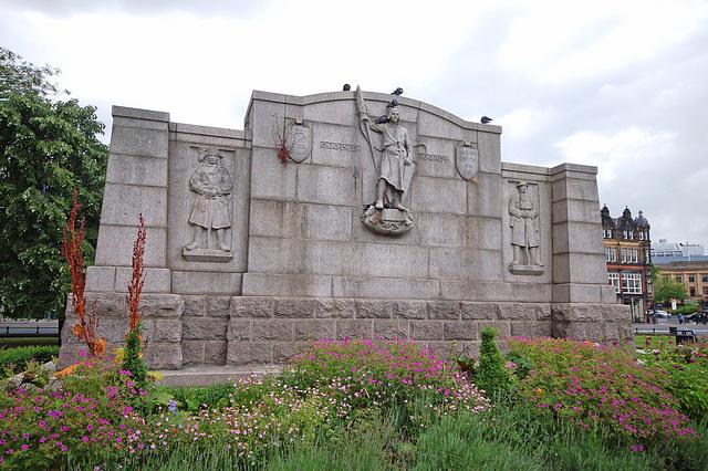 War Memorial, Barras Bridge, Newcastle upon Tyne (rear)