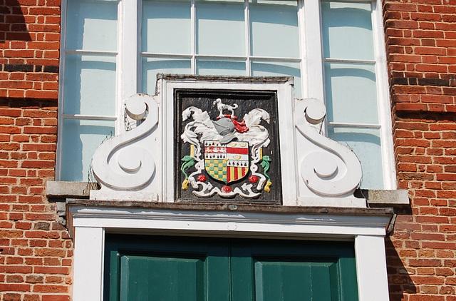 Town Hall, Woodbridge, Suffolk. East Elevation (25)