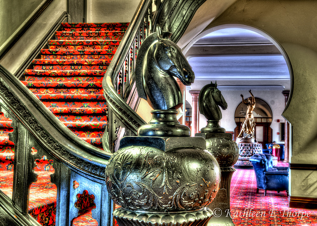 University of Tampa Plant Hall Grand Staircase HDR 070113-4
