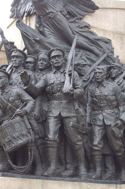 War Memorial, Barras Bridge, Newcastle upon Tyne