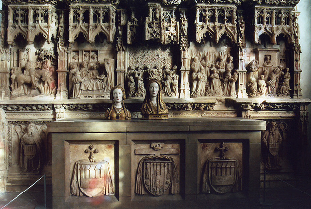 Gothic Altar in the Cloisters, Oct. 2006