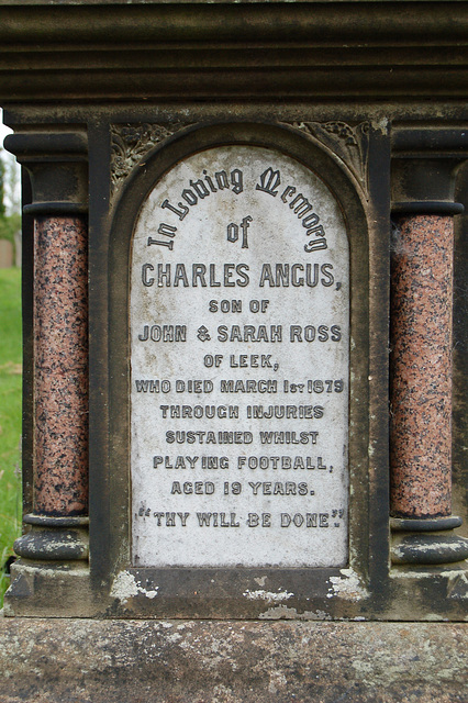 Memorial to Charles Angus Ross,