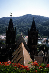 Freiburg Cathedral anno 1994
