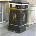 old black fox bin