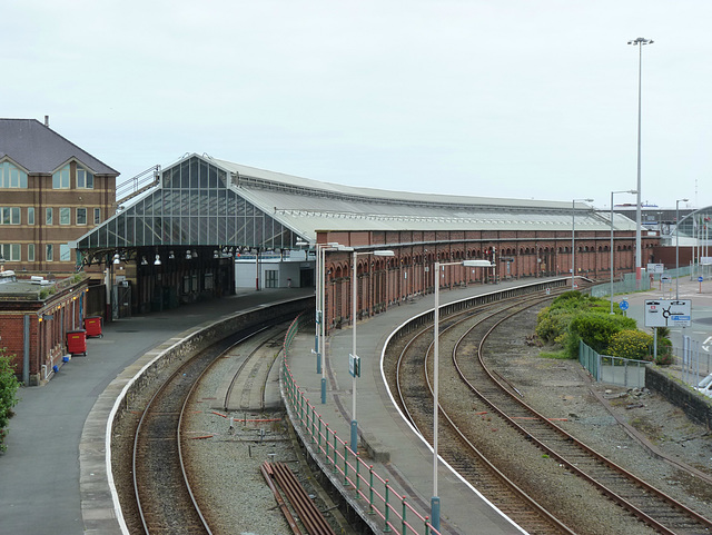 Holyhead Station (1) - 1 July 2013