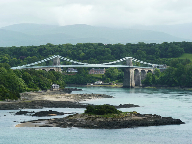 Menai Suspension Bridge - 1 July 2013