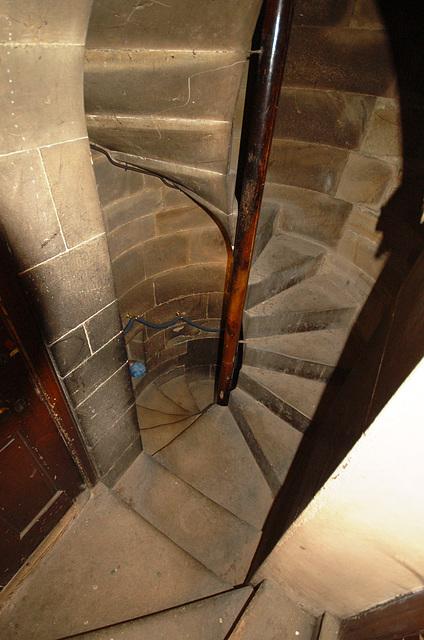 Gallery Stair, St Peter & St Leonard's Church, Horbury, West Yorkshire