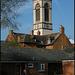 Barny church clock