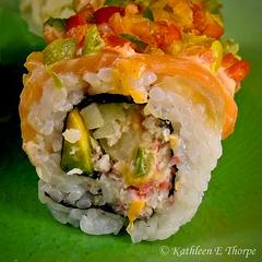Ultimate Sushi Chili Roll Macro