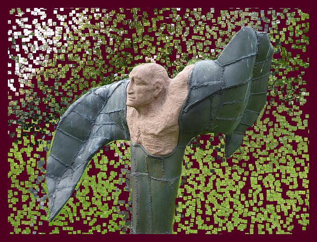 der Flügelmensch