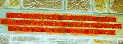 Memorial to Lance Corporal Norman Bywater Miers, Christ Church, Lea, Derbyshire