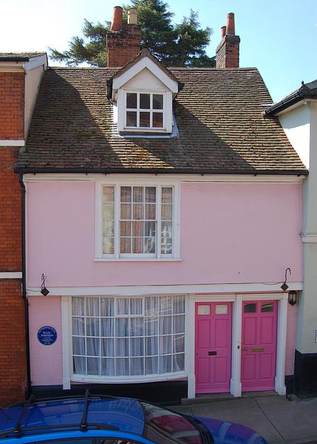 Town Hall, Woodbridge, Suffolk. East Elevation (52)