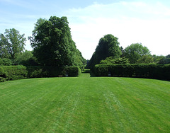 Back Lawn of Westbury House in Old Westbury Gardens, May 2009