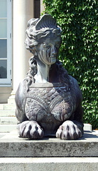 Sphinx in Old Westbury Gardens, May 2009
