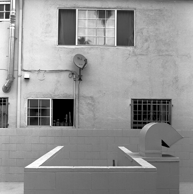 Inner Yard, Hollywood, LA