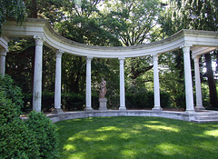 Colonnade in Old Westbury Gardens, May 2009