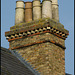 ornate chimney brickwork