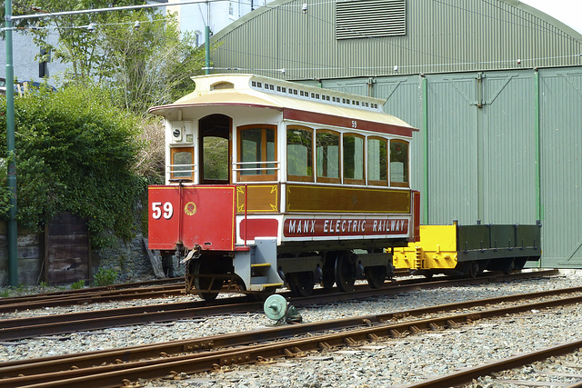 Isle of Man 2013 – Carriage № 59 of the Manx Electric Railway