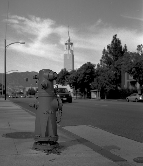 Hydrant and Church