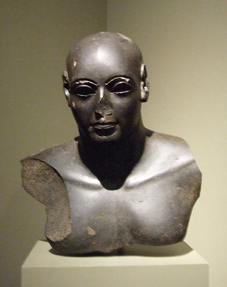 Ptolemaic Statue of a Man in the Walters Art Museum, September 2009