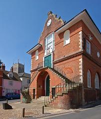 Town Hall, Woodbridge, Suffolk. East Elevation