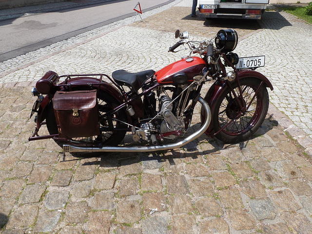 Motorrad 1929 - Fahrzeugfabrik Willy Ostner Dresden