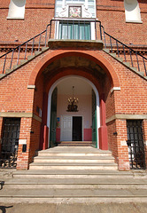 Town Hall, Woodbridge, Suffolk. East Elevation (76)