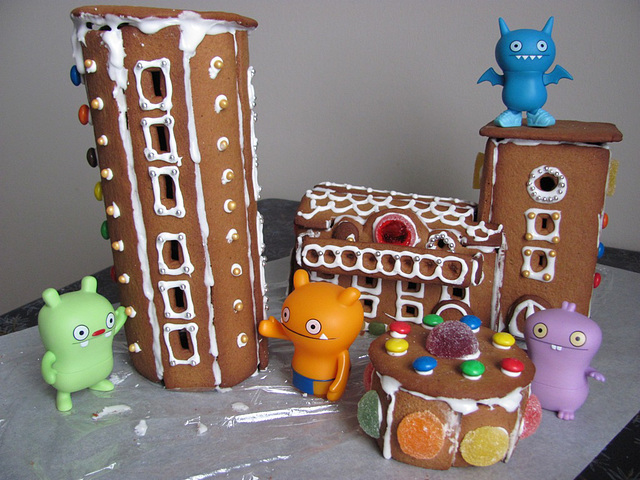 Gingerbread house project 5: construction