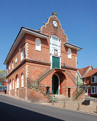 Town Hall, Woodbridge, Suffolk. East Elevation (77)