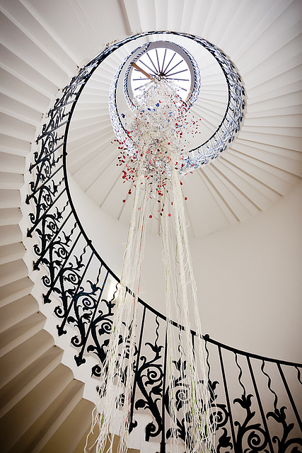 Spiral Staircase - The Queens House, Greenwich