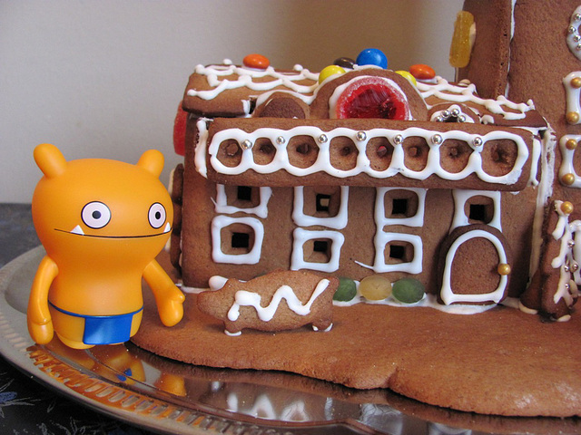 Gingerbread house project 7: details