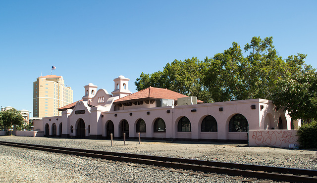 Modesto, CA SP depot (0422)