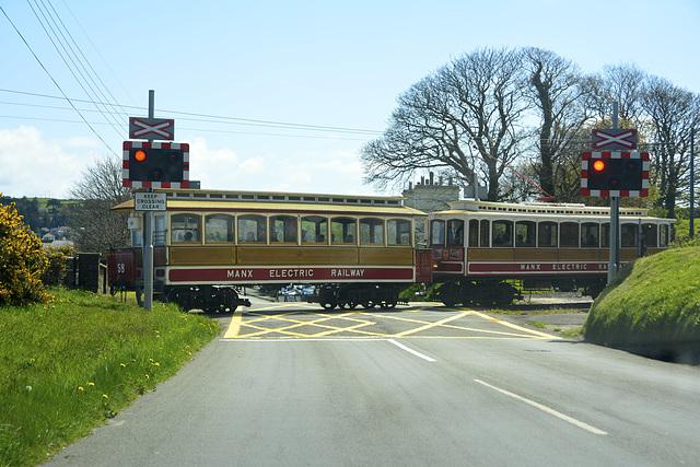 Isle of Man 2013 – Railway crossing