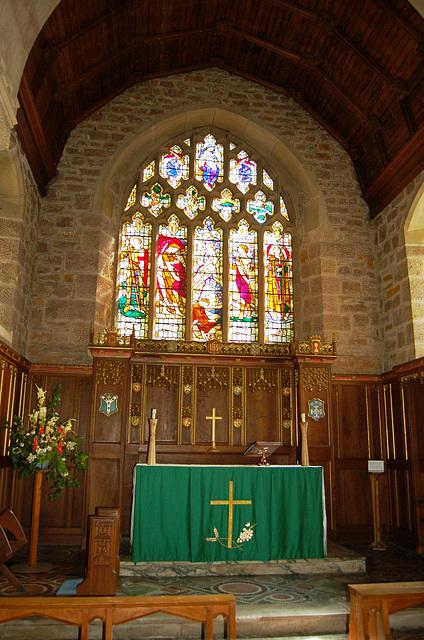 East Window, Christ Church, Lea, Derbyshire