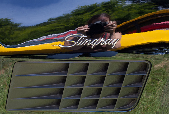 Corvette Stingray Reflection