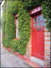red door in Jericho