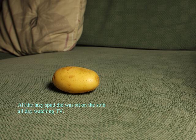 Potato humour