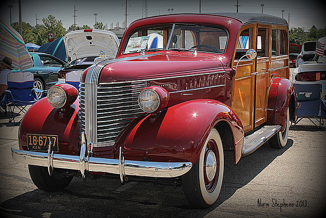 1938 Pontiac Stationwagon