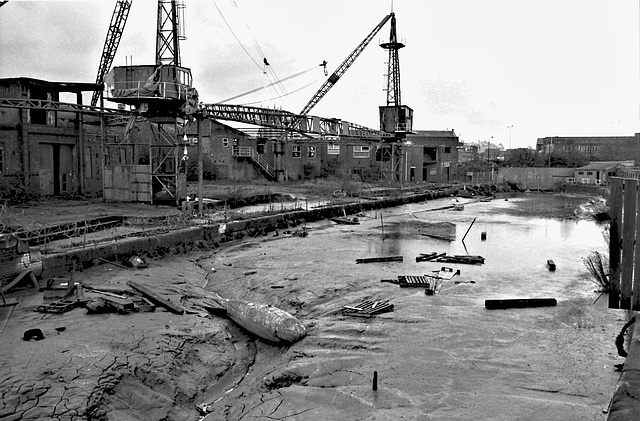 Derelict dock, Hull.