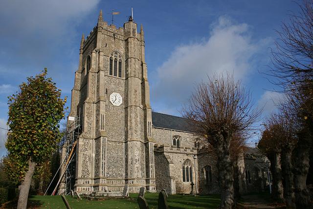 St Peter's Church, Monks Eleigh, Suffolk, England