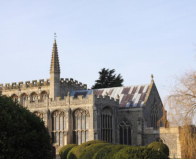 St Peter and St Paul Church, Lavenham, Suffolk, England
