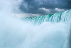 Better watch your camera! Horseshoe Falls, Niagara, 2002 (165°)