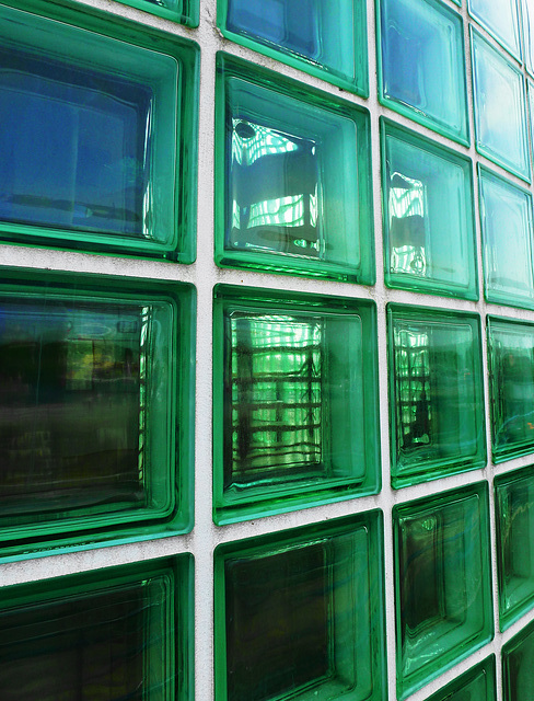 Glass cubed