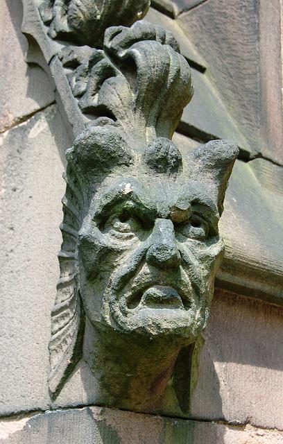 St Luke's Church, Fountain Street, Leek, Staffordshire