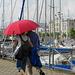 un ptit coin de paradis sous le parapluie