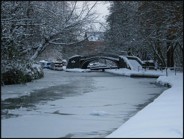 winter comes to Isis Bridge