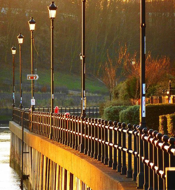 Along the Tyne riverside