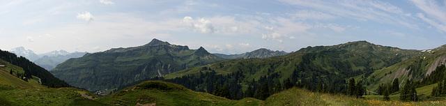 Panorama Damüls